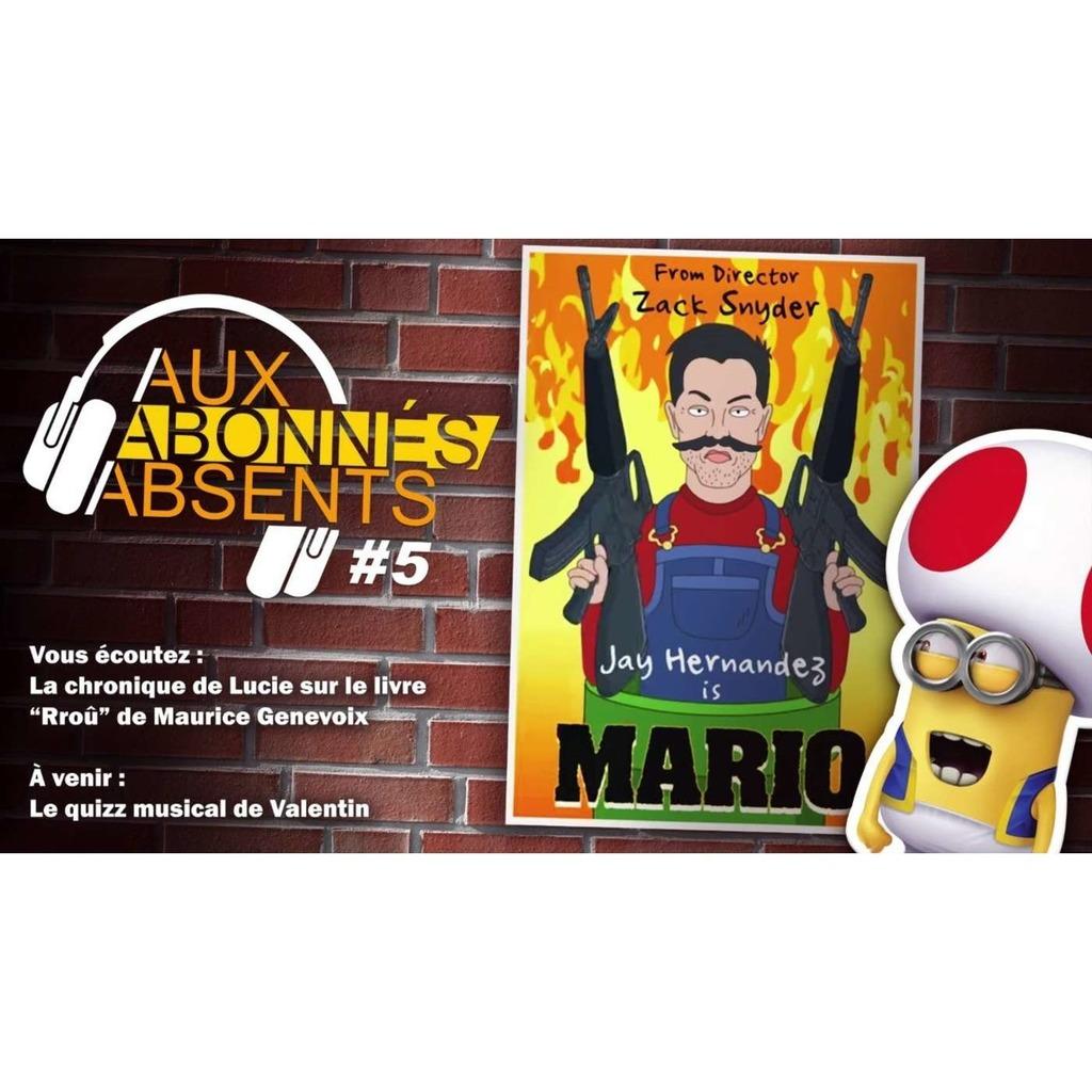 """On devine le scénario du film """"Super Mario"""" (2022) Aux Abonnés Absents #5"""